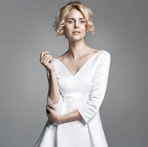 51031363 - portrait of a delicate blond woman